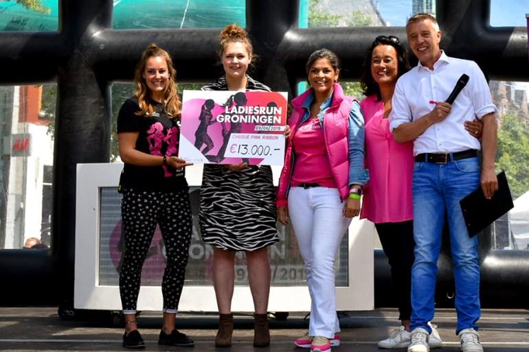 Ladiesrun Groningen Pink Ribbon