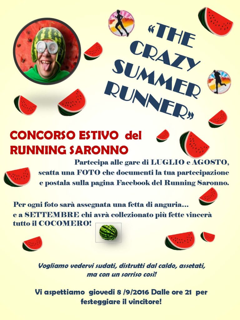 THE CRAZY SUMMER RUNNER