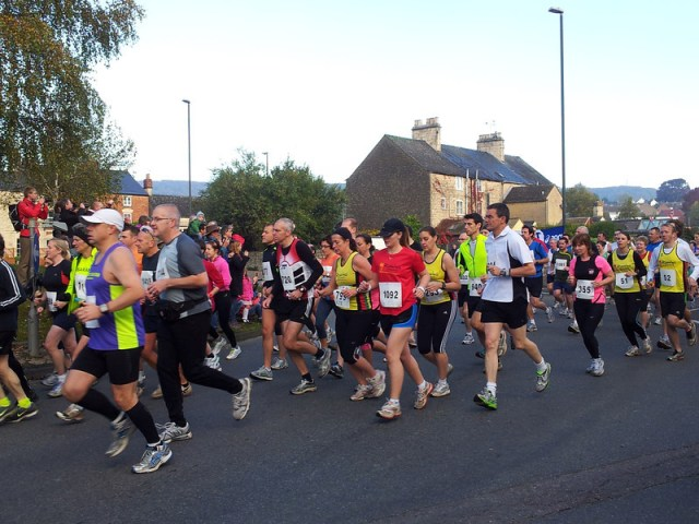 Folks running, how many RSE runners can you spot?