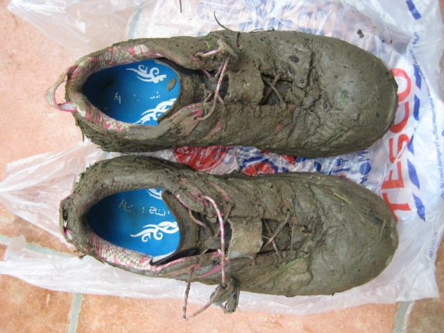 There might still be some shoes left under all the mud ;-)