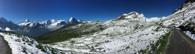 On the way to Bachalpsee