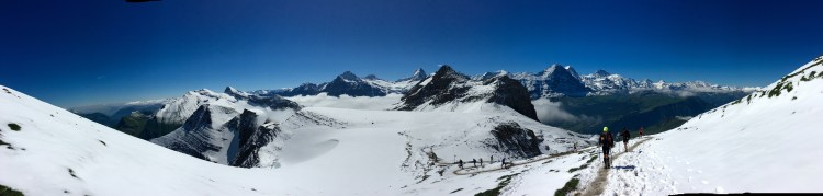 Wonderful view from the Faulhorn