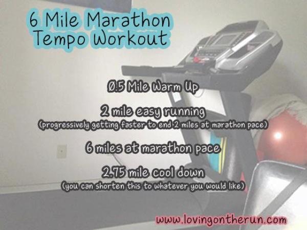 6 Mile Tempo