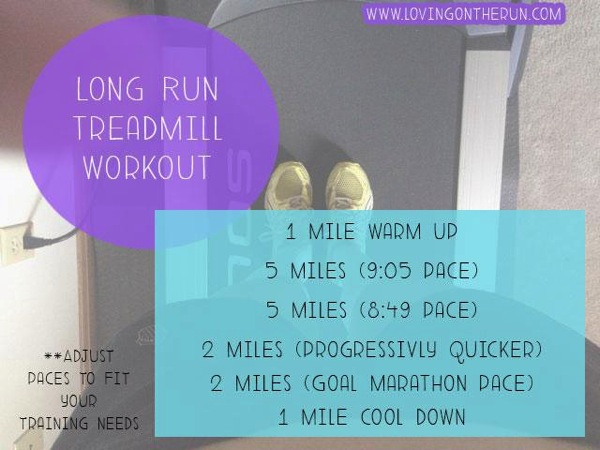 Long Run Treadmill Workout