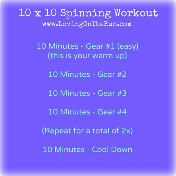 10 x 10 Spinning Workout