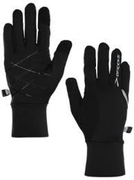 Warm running gloves