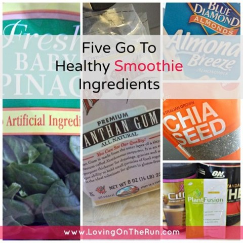 Five Go To Healthy Smoothie Ingredients