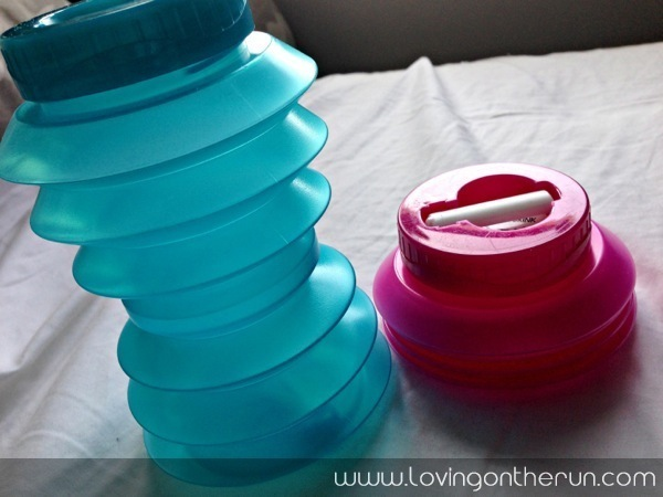 Ohyo Collapsable Bottles