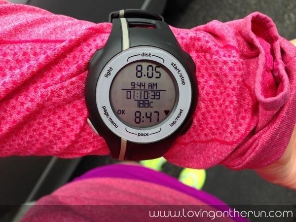 8 Mile Run