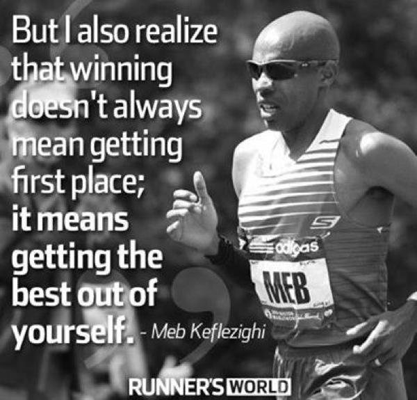 Winning doesn't mean 1st