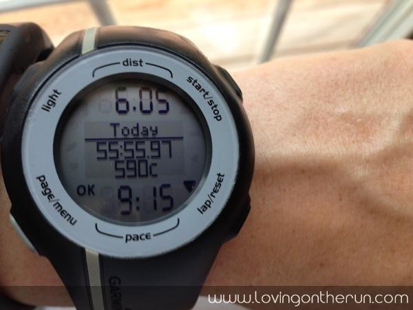 6 miles easy