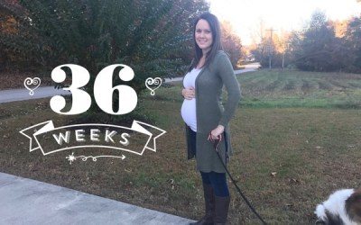 Running and Pregnancy: 36 Weeks