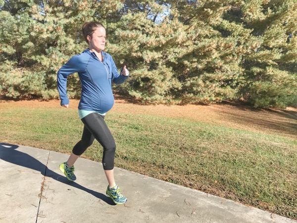 Running pregnancy and 1000 running miles.
