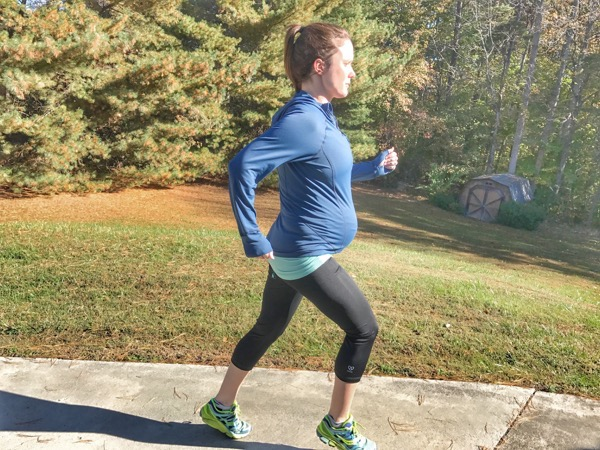 running and pregnancy 35 weeks Saturday