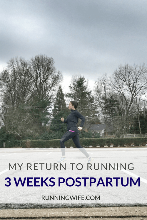 Return to Running Postpartum Pinterest