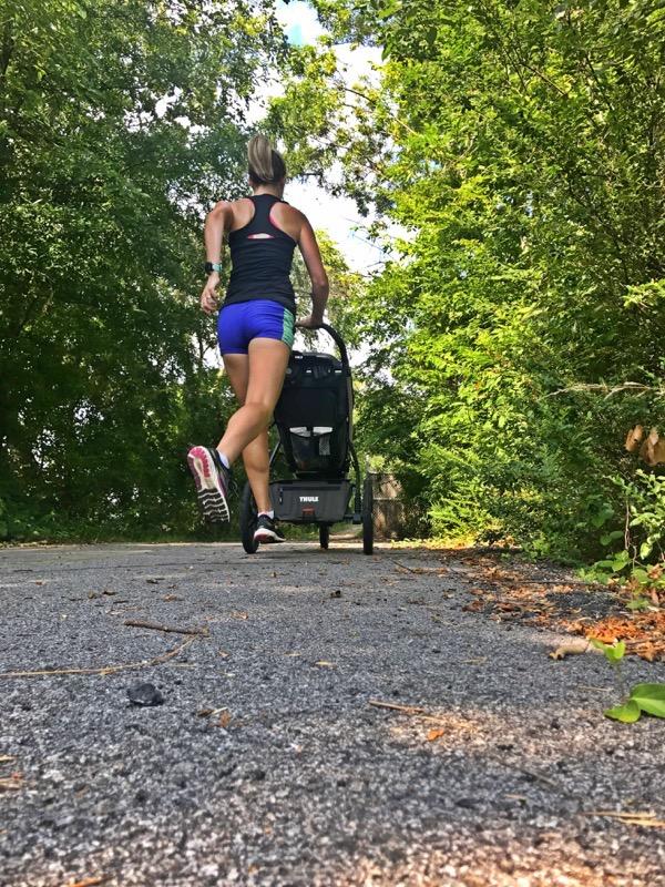 7 months postpartum Stroller Ru