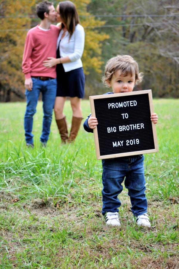Pregnancy #2 Announcement
