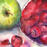 Watercolour painting. Summer's Fruit (RWB0017)