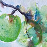 Watercolour painting. G & T (LBW008). Artist: Lorraine Brown