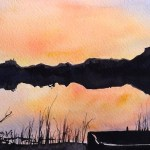 Watercolour painting. Riverlea (RWB0043) Artist: Vandy Massey