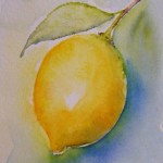 Watercolour painting. Refresh (SPA004) Artist: Seonaid Parnell