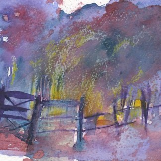 Watercolour painting. RWB0243 Enchanted Artist: Vandy Massey