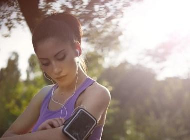 Telefoon mee met hardlopen