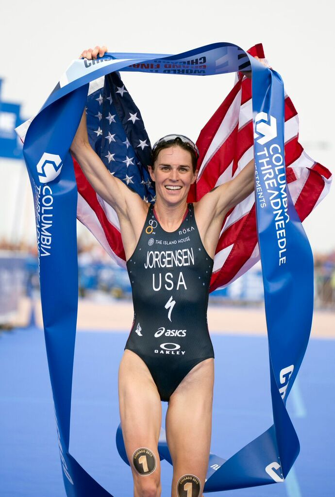 Gwen Jorgensen Professional Triathlete Workout Wednesday