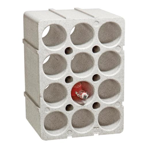 casiers a bouteille cuisine maison casier range porte bouteilles empilables en polystyrene etagere a vins 35 x 29 5 x 50 cm 12 bouteilles sobazar