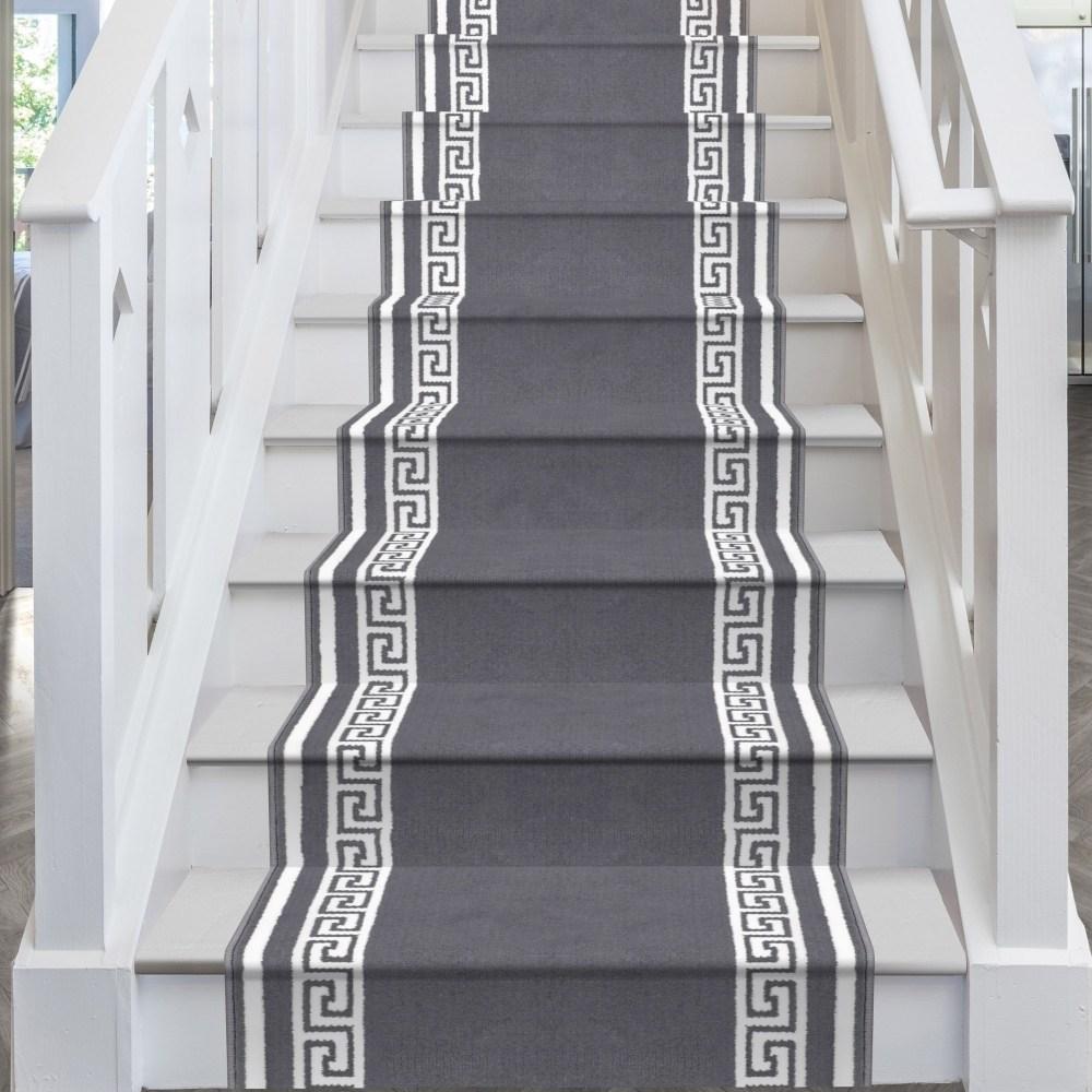 Key Grey Stair Runner   Stair Runners For Sale   Flooring   Stair Tread   Rug   Stair Carpet Runners   Tartan