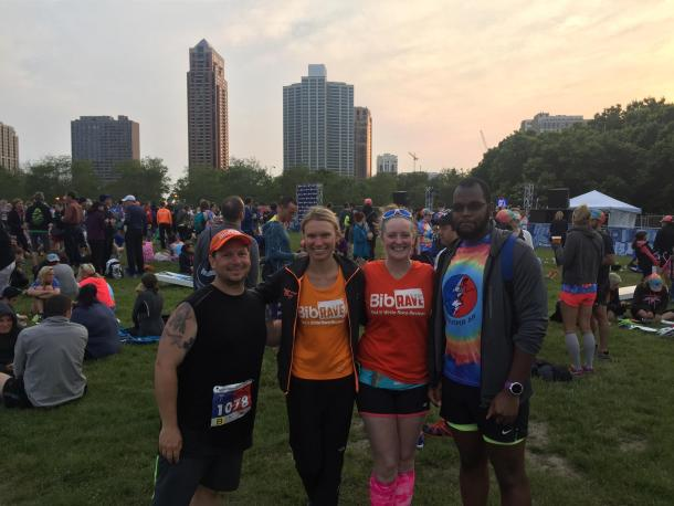 Terrapin 5K - Tom, Julia, Heather, Jordan