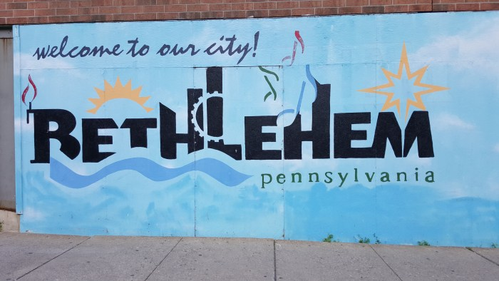 Bethlehem Mural - Runners World Half