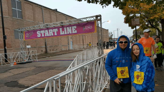 Race of the Dead Start Line