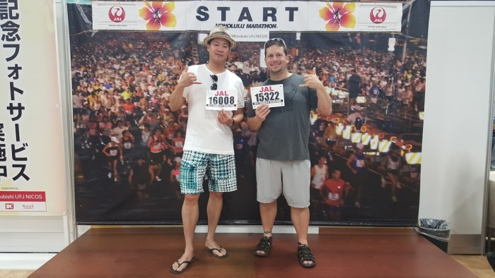 Honolulu Marathon Expo