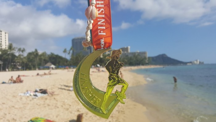 Honolulu Marathon Finisher's Medal