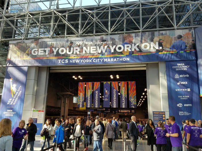 New York Marathon Race Expo