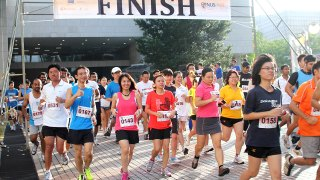 NUS Bizad Charity Run 2012: The Year's First