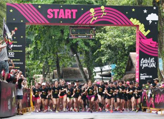 More than 4,600 Girls and Their Best Friends Ruled Running at Second Edition of Nike Goddess 5K