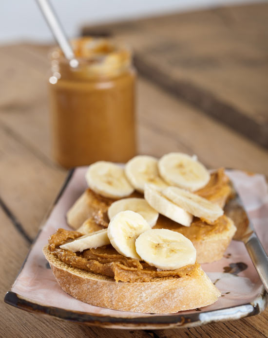 Five Great Post Work Out Foods- Peanut Butter and Banana
