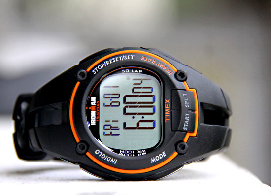 Timex Ironman Road Trainer Heart Rate Monitor Watch: An athlete's best friend