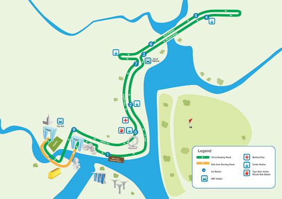 SCM'12 10km route