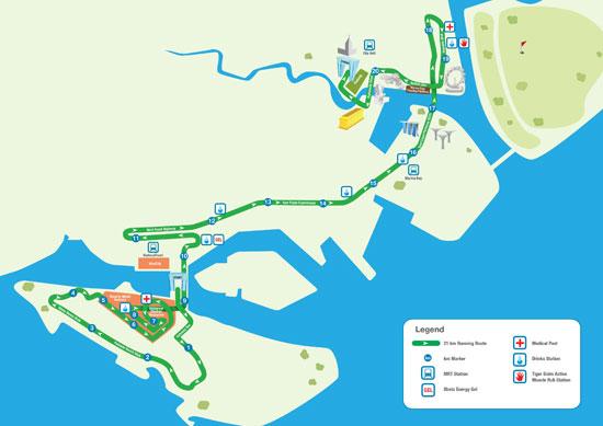 SCM'12 21km route