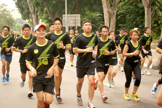 Nike We Run SG 10K 2012: Racing Against the Cityscape