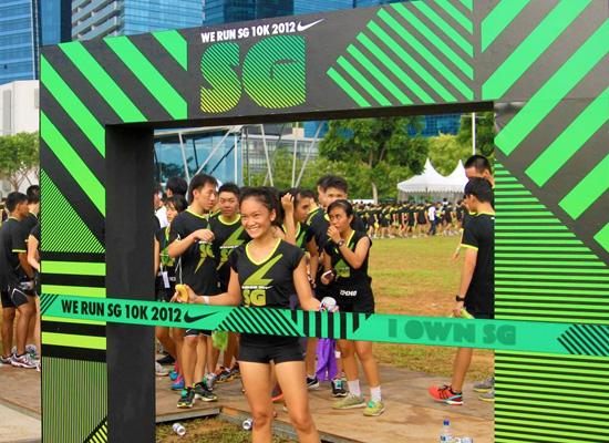 Nike We Run SG 10K 2012: Racing Against the Cityscape
