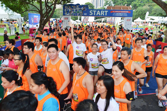 100PLUS PAssion Run 2012: Passion Is All It Takes