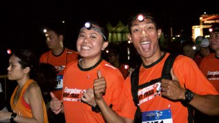 Energizer Singapore Night Trail 2013: Positive Energy All Around!