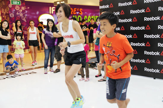 Reebok One Series Launch Event