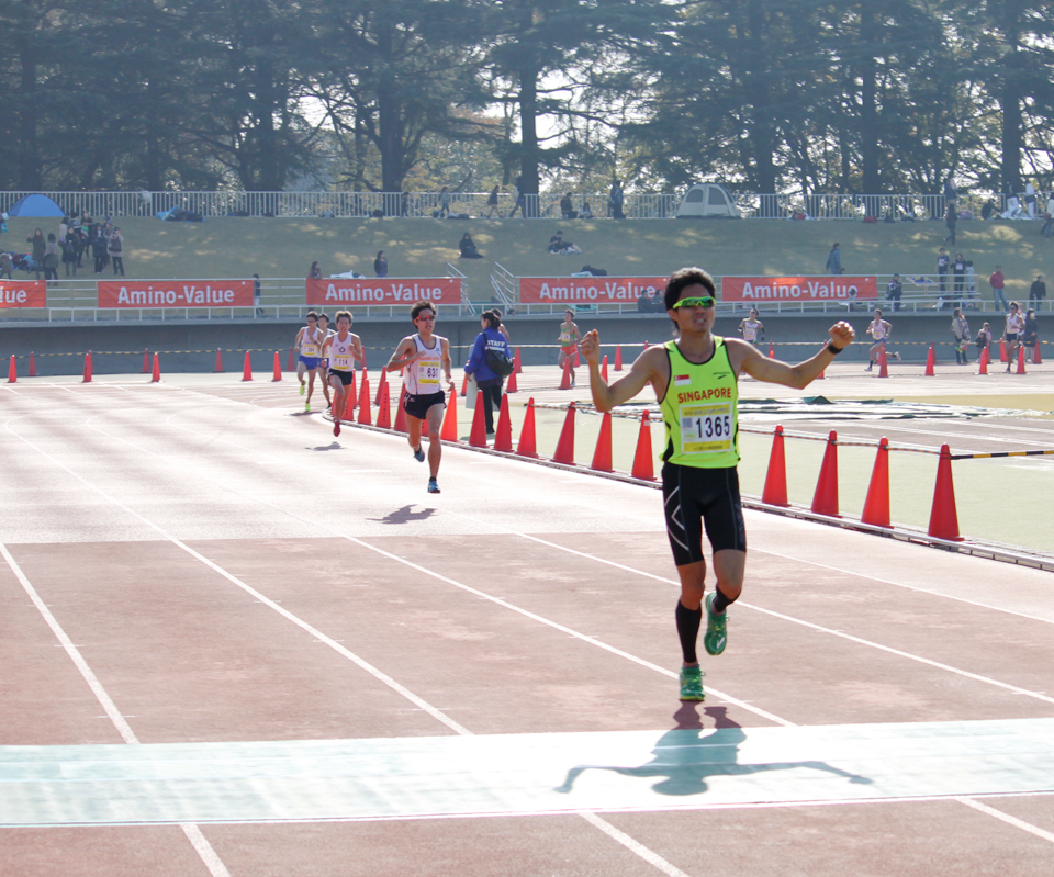 Mok Ying Ren Breaks National Record at Ageo City Half Marathon