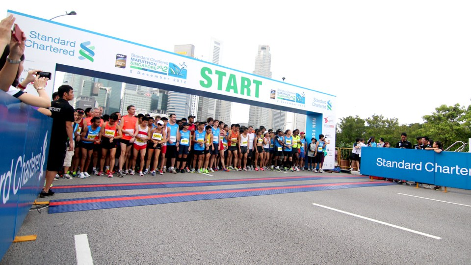 Standard Chartered Marathon Singapore 2013 Organisers Unveils Streamlined Baggage Handling & Extended Train Hours to Deliver a Smooth Race