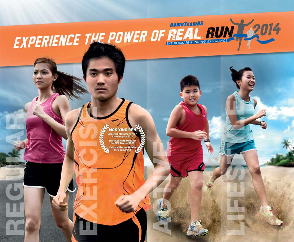 Prepare For The HomeTeam NS Real Run With Sam McGrath